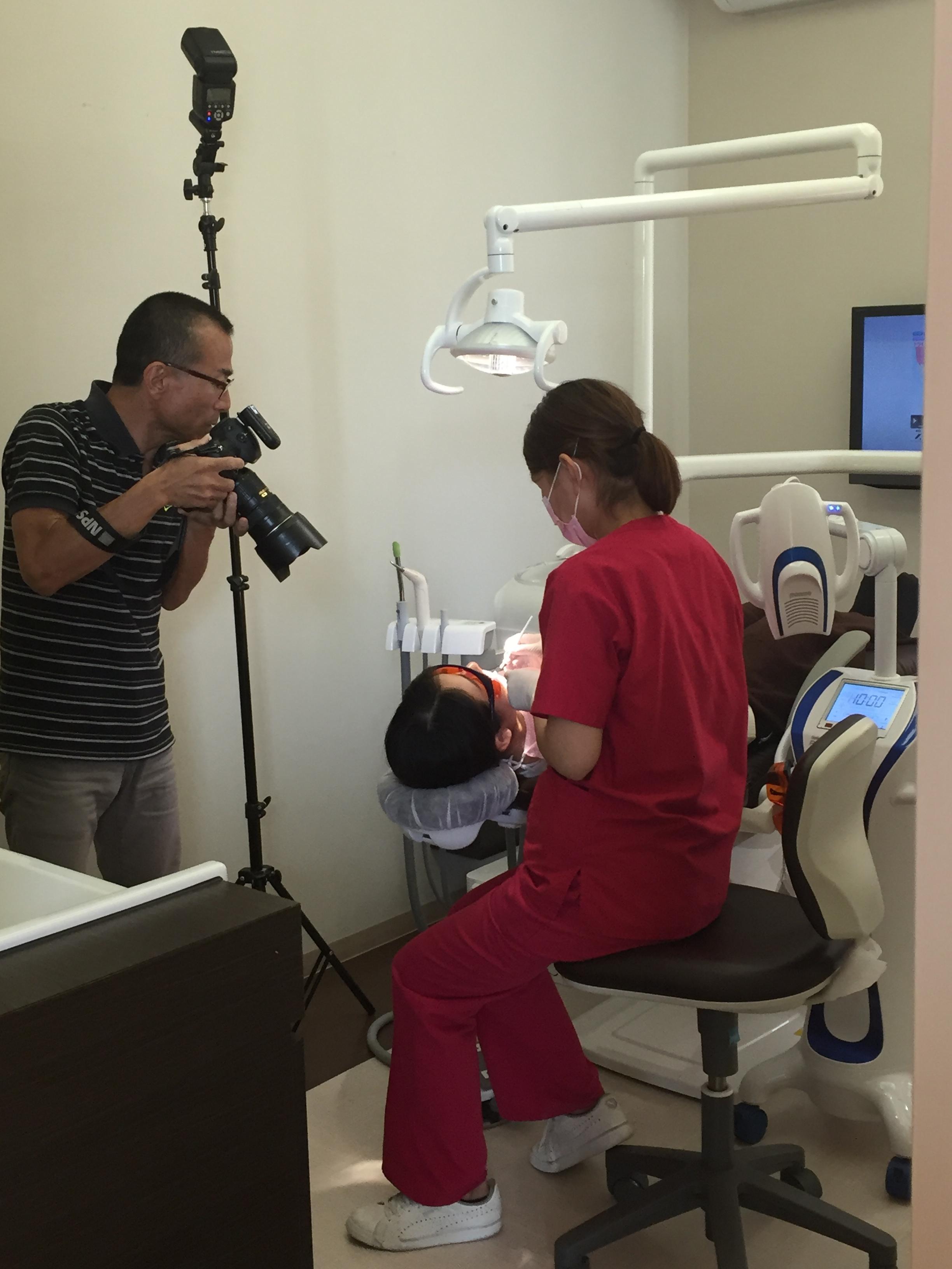 ひで歯科クリニック撮影