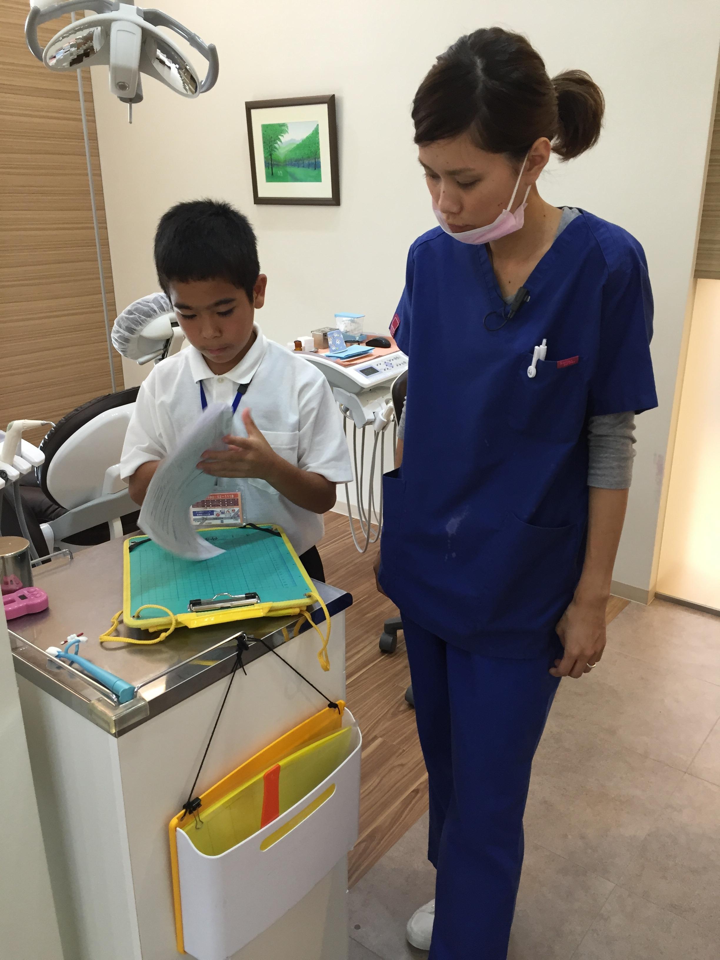 歯科職場体験